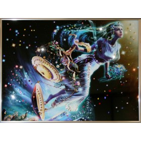 """Картина с кристаллами Swarovski """"Весы Кагая"""""""