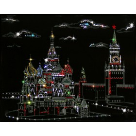 "Картина с кристаллами Swarovski ""Кремль"""