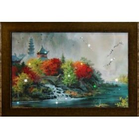 "Картина с кристаллами Swarovski ""Восток"""