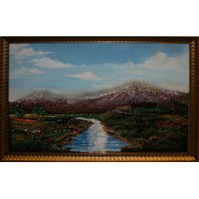 "Картина с кристаллами Swarovski ""Гора Арарат"""