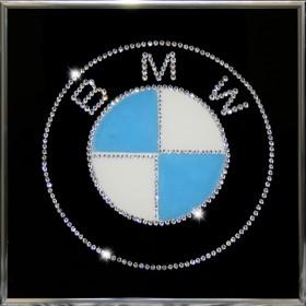 "Картина с кристаллами Swarovski ""BMW"""