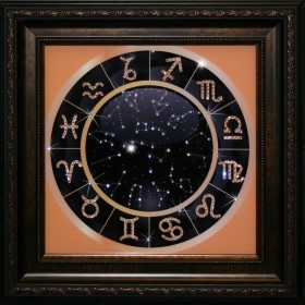 "Картина с кристаллами Swarovski ""Знаки зодиака"""