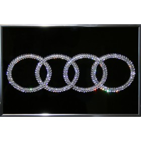 "Картина с кристаллами Swarovski ""Audi"""