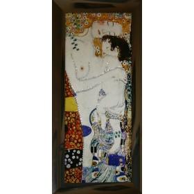 """Картина с кристаллами Swarovski """"Материнская любовь"""""""