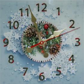 """Часы """"Новогодние"""""""