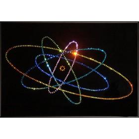 """Картина с кристаллами Swarovski """"Атом большой"""""""