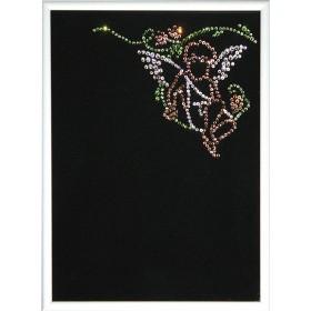 "Картина с кристаллами Swarovski ""Фоторамка «Ангел-1"""""