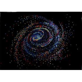 """Картина Swarovski """"Галактика большая"""""""