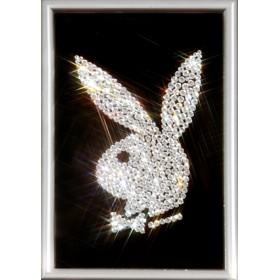 "Картина Swarovski ""Логотип Playboy"""