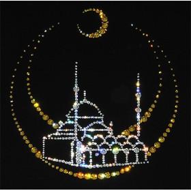 "Картина с кристаллами Swarovski ""Мечеть"""