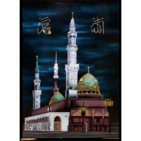 "Картина с кристаллами Swarovski ""Мухаммед Пророк Аллаха"""