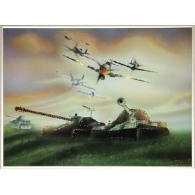 """Картина Swarovski """"На страже Отечества"""""""