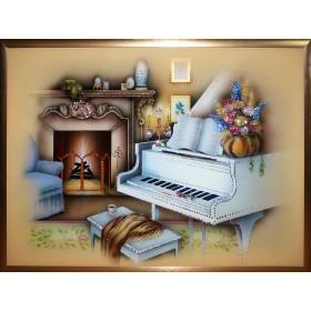 "Картина Swarovski ""Вечер музыки (Большой)"""