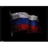 Картины с кристаллами Swarovski символика РФ